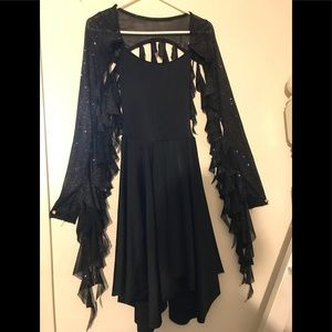 Size Adult Small Dance Dress Costume w/ Leotard
